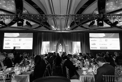 Corporate event ballroom